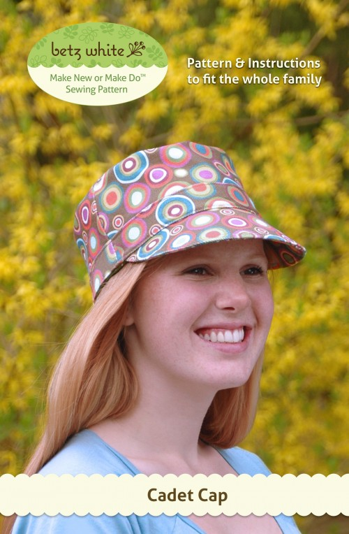 Cadet Hat Sewing Pattern