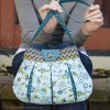 Caitlyn Handbag in Stitch Fabric by Betz White