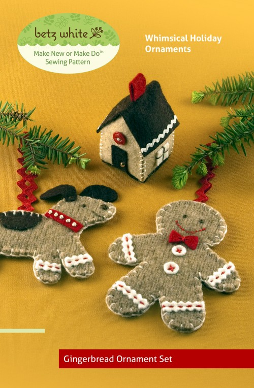 Gingerbread Ornament Craft Pattern