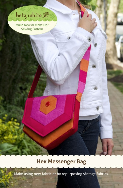 Hex Messenger Bag Sewing Pattern