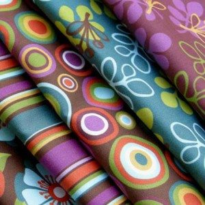 Indian Summer Fabric by Betz White
