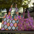 Isabella Tote Bag shown in two sizes