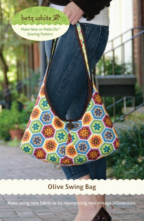 Olive Swing Bag Sewing Pattern