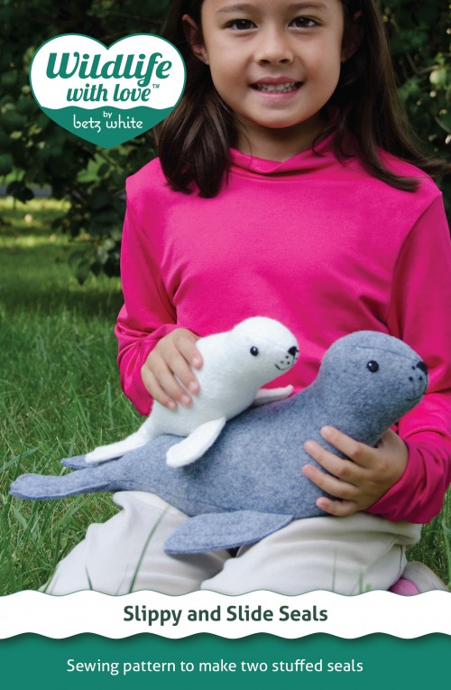 Slippy and Slide Seals Sewing Pattern