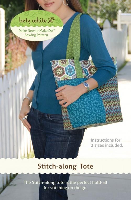 Stitch-along Tote Sewing Pattern
