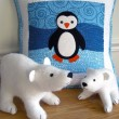Polar Babies Quilt & Pillow