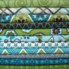 Stitch Fabric, Lagoon Palette by Betz White