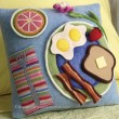Warm Fuzzies : Breakfast Pillow
