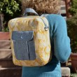 Jet Pack Sewing Pattern by Betz White. Convertible backpack and shoulder bag.