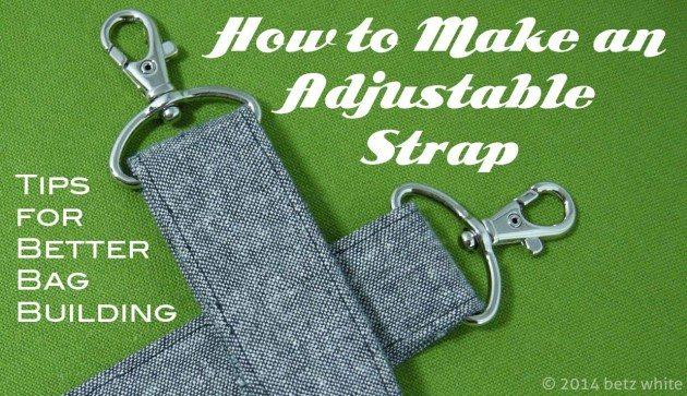 tips: adjustable strap