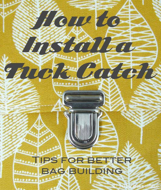 Betz White how to install a tuck catch video