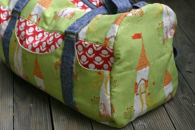 Betz White Road Tripper Duffle sewn by Kate H1