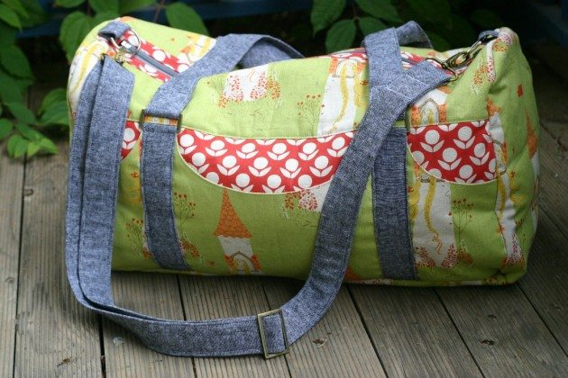 Betz White Road Tripper Duffle sewn by Kate H2