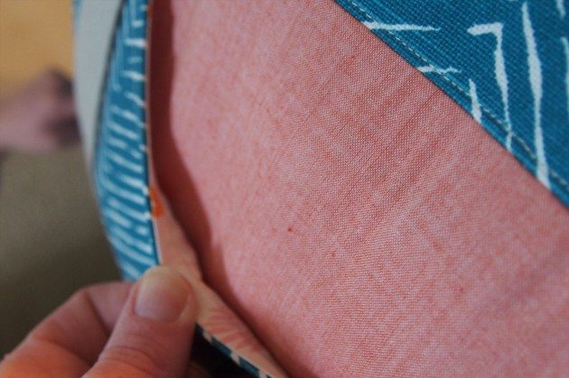 Betz White Road Tripper Duffle sewn by Krista 4