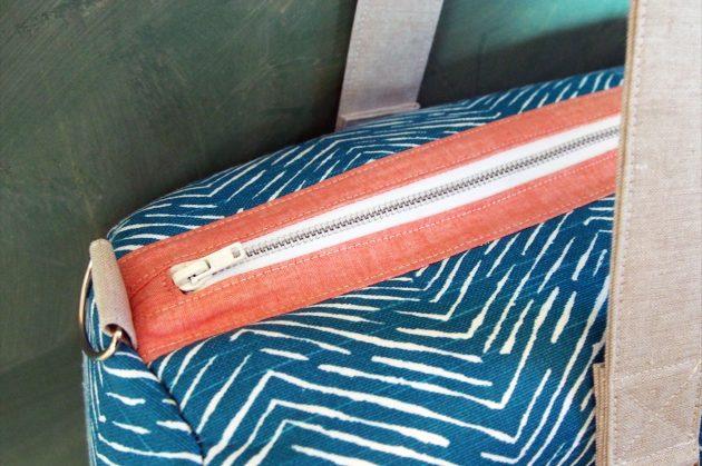 Betz White Road Tripper Duffle sewn by Krista 2