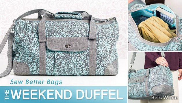 betz white weekend duffel