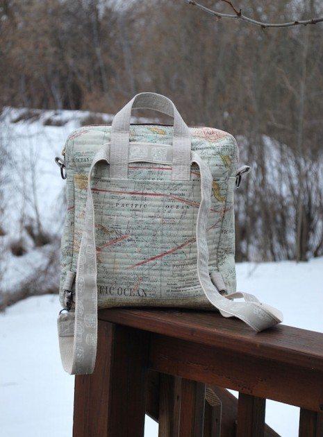 Betz White Jet Pack Bag