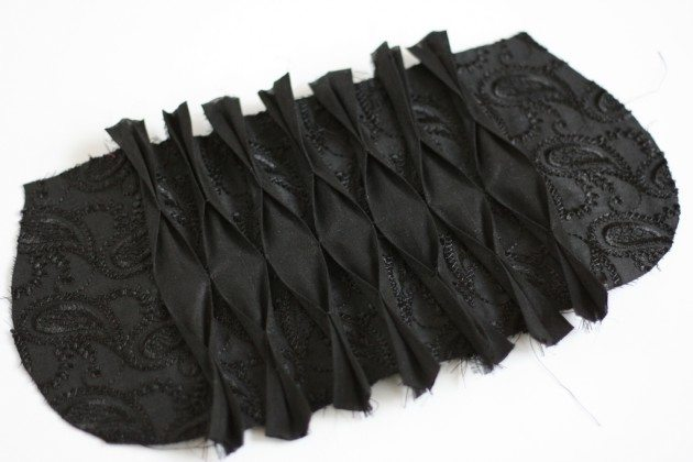 The Pasha Pleated Clutch from Present Perfect