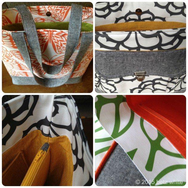 bag detail collage