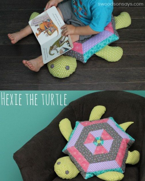 Present Perfect Hexie the Turtle title