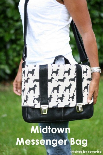 Midtown Messenger Betz White