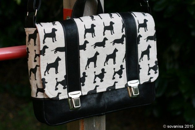 Midtown Messenger Bag betz white