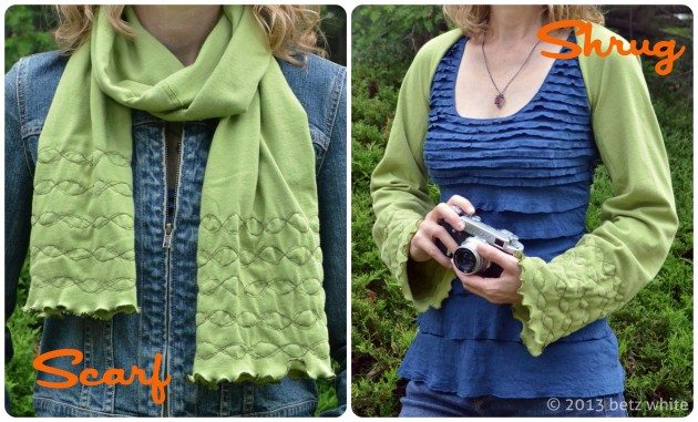 Scarf/Shrug Tutorial - betz white