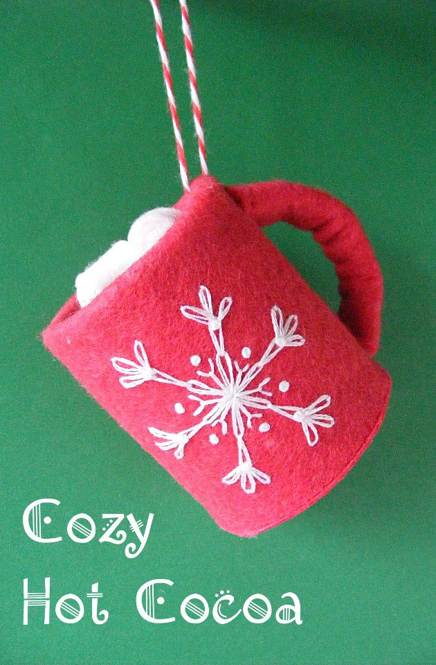 Hot Chocolate Ornament With Wendi Sewing Collective Betz