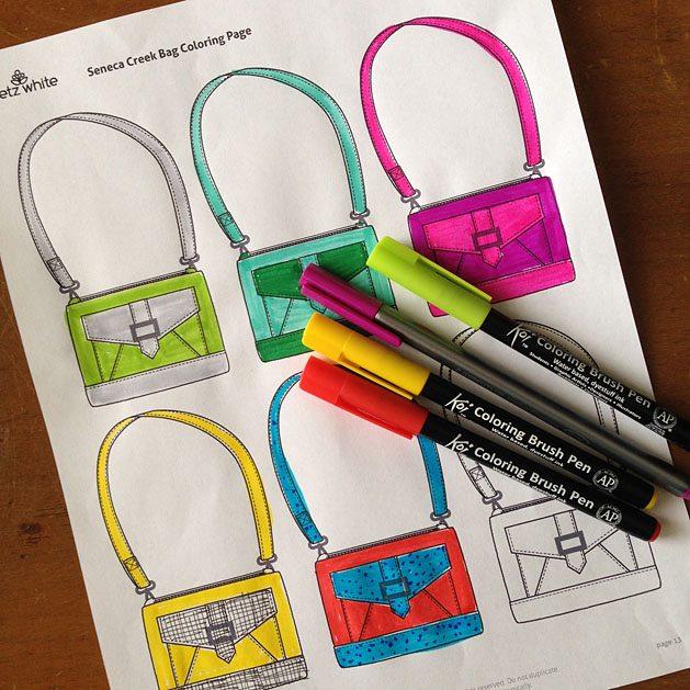 Seneca coloring page