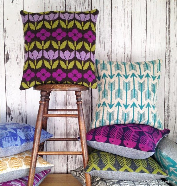 Betz White Studio Knits pillows