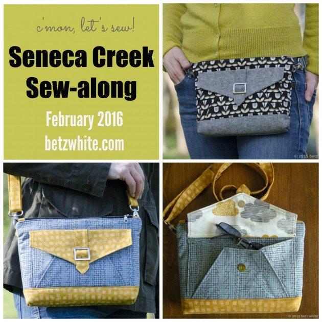 Seneca Creek Bag Sew-along title