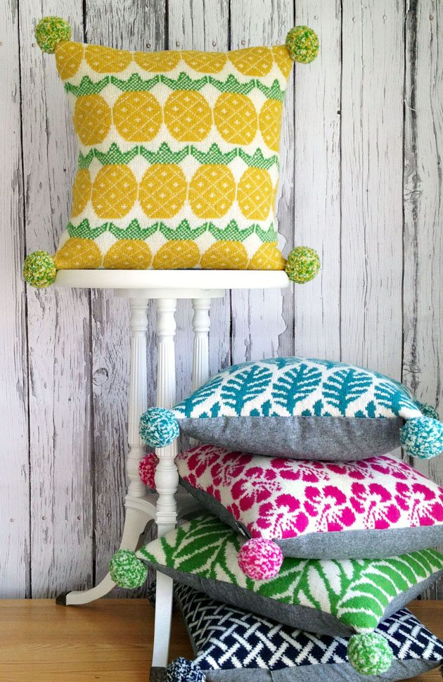 New! Betz White Studio Knits Pom Springs Collection