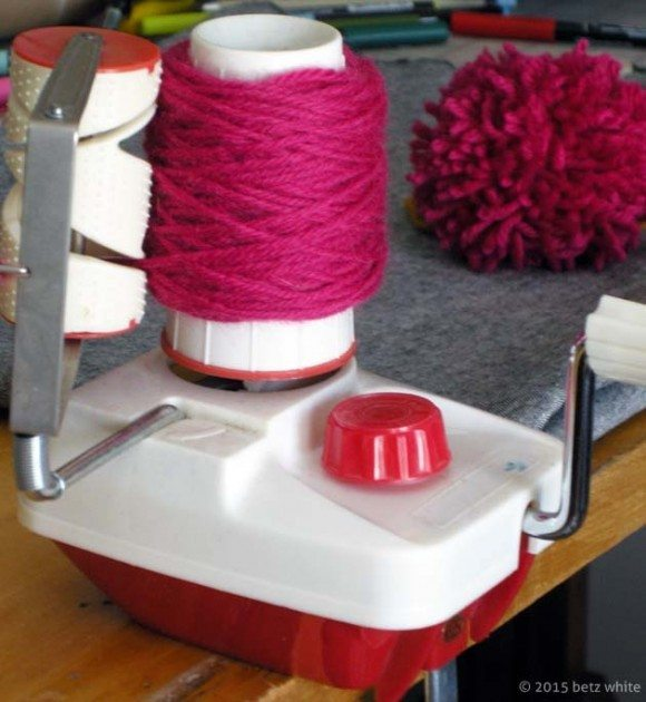 yarn winder pom tutorial betzwhite.com