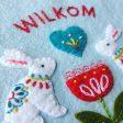 Dutch Bunny Embr. betz white