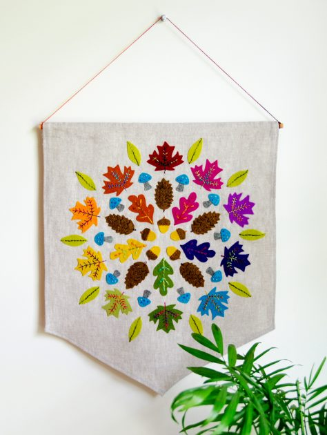 Betz White Autumn Mandala
