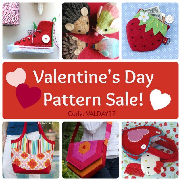 Betz White Valentine's Pattern Sale