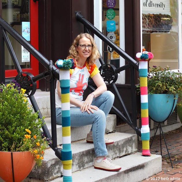 betz white yarn bomb store