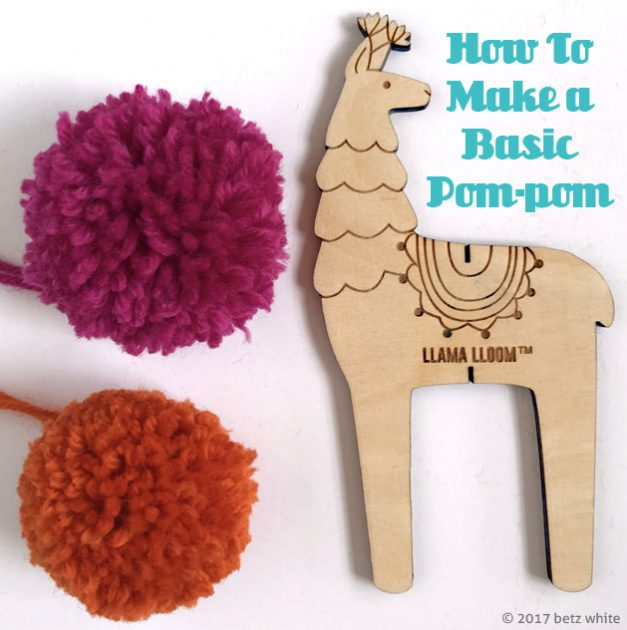 betz white pompom tutorial