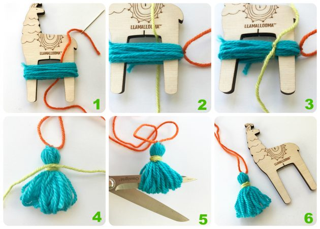 How to Make Tassels with your Llamallooma Pom-pom Maker ...