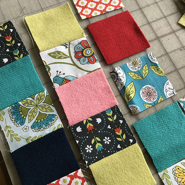 PATCHWORK LLAMA SEW-ALONG by Betz White 4