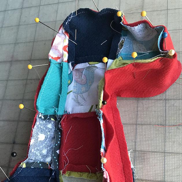 Patchwork Llama SAL 26