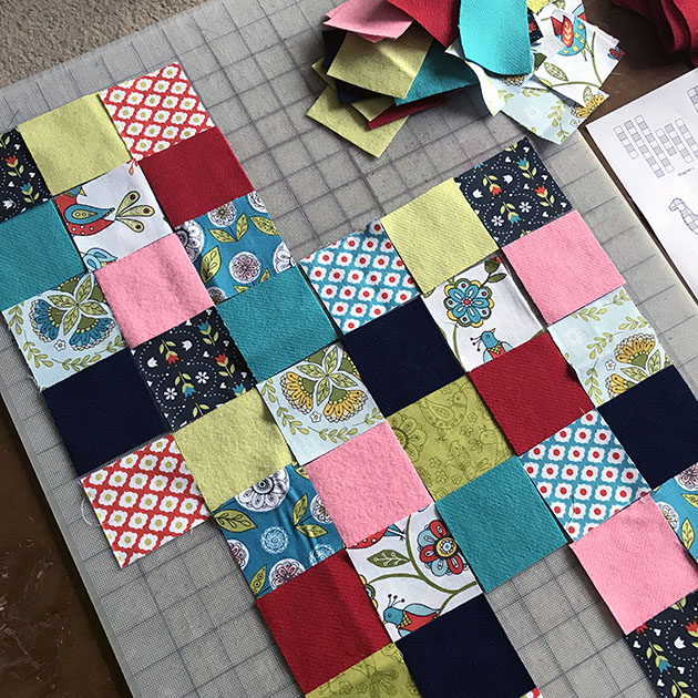 PATCHWORK LLAMA SEW-ALONG by Betz White 8