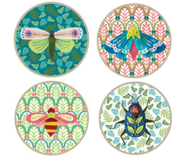 Entomologie Embroidery set Betz White
