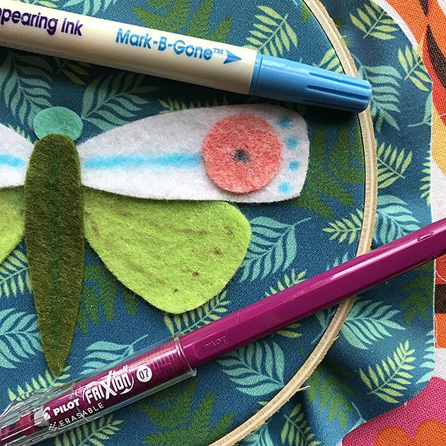 Entomologie SAL marking