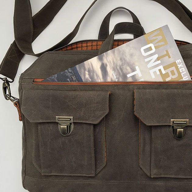Ravenwood Messenger Bag Betz White