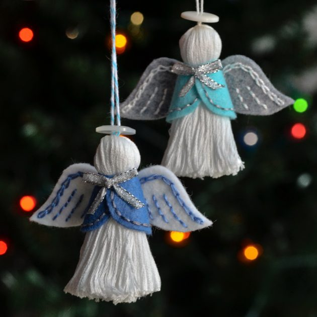 Betz White Two Angel Ornament Pattern