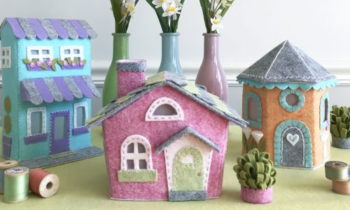 Join the Lil' Felt Village Make-Along Club by Betz White