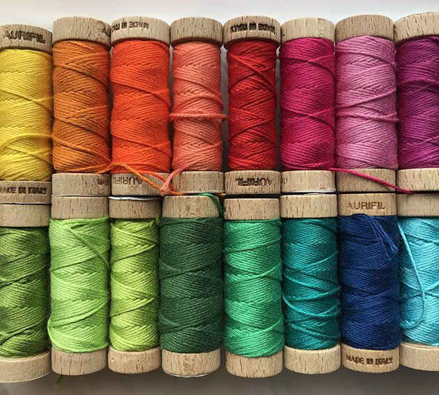 aurifil-floss-rainbow betz white
