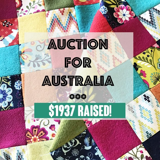 Australia auction $ raised