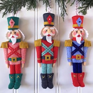 Nutcracker Ornament Mini Class